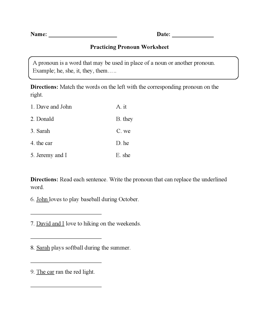 medium resolution of Worksheets Demonstrative Adjectives   Printable Worksheets and Activities  for Teachers