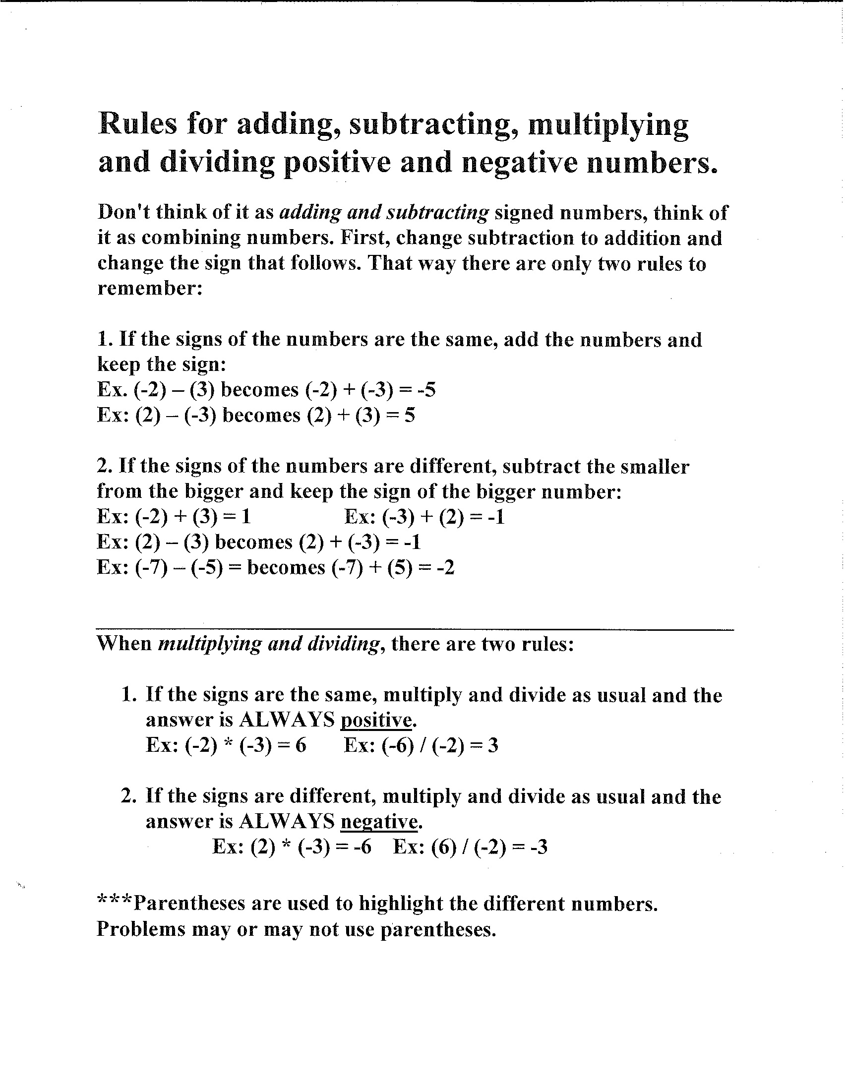 11 Best Images Of Adding Integer Worksheets 7th Grade Math