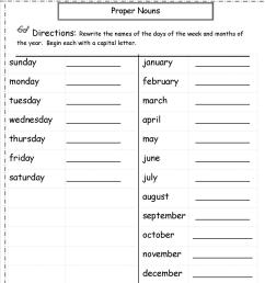 Proper Nouns And Common Nouns Worksheet   Printable Worksheets and  Activities for Teachers [ 1650 x 1275 Pixel ]