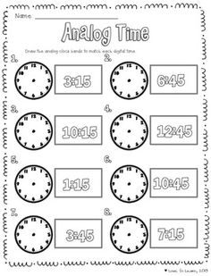 17 Best Images of Before And After Worksheets Grade 3 Time