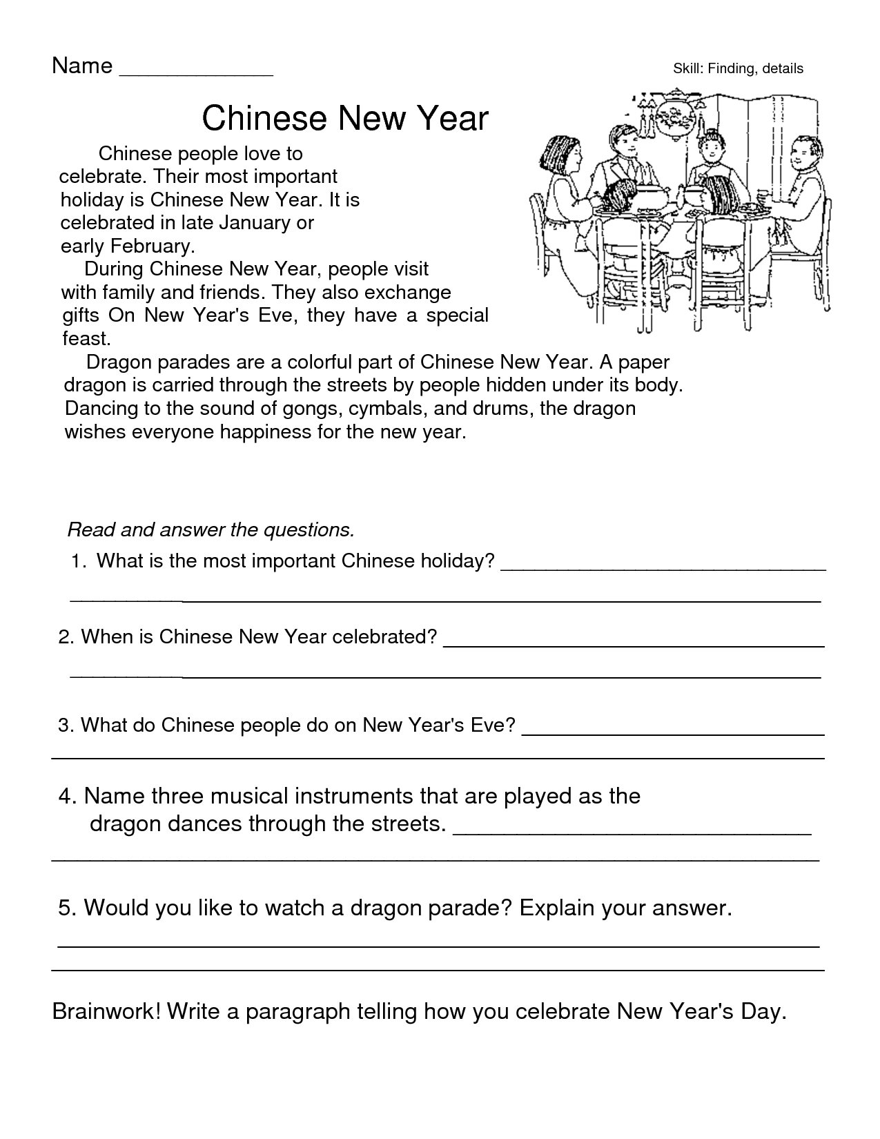 Do It Yourself Divorce Worksheet