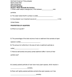 Earth Science Worksheets   Printable Worksheets and Activities for  Teachers [ 1650 x 1275 Pixel ]