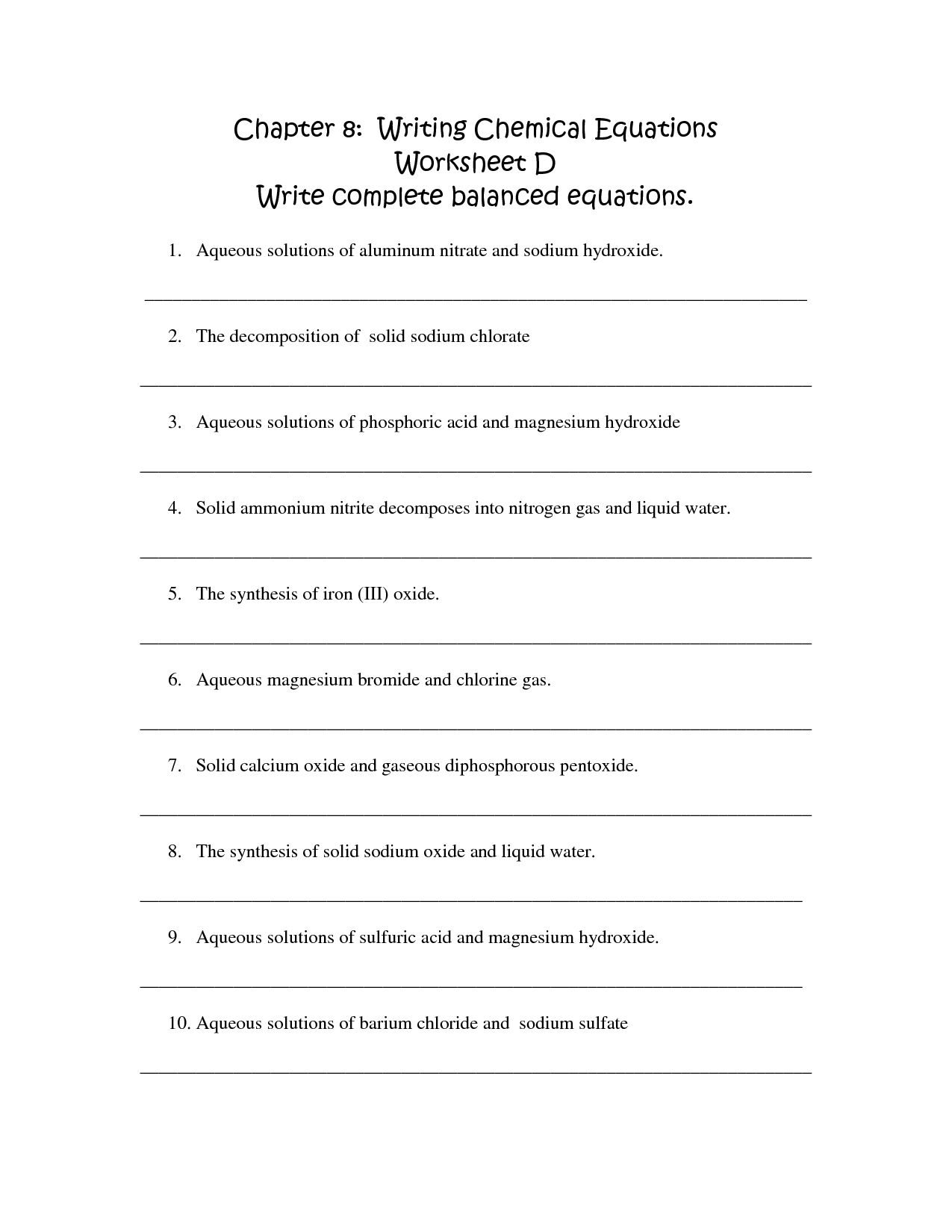 35 Writing Linear Equations Worksheet Answers