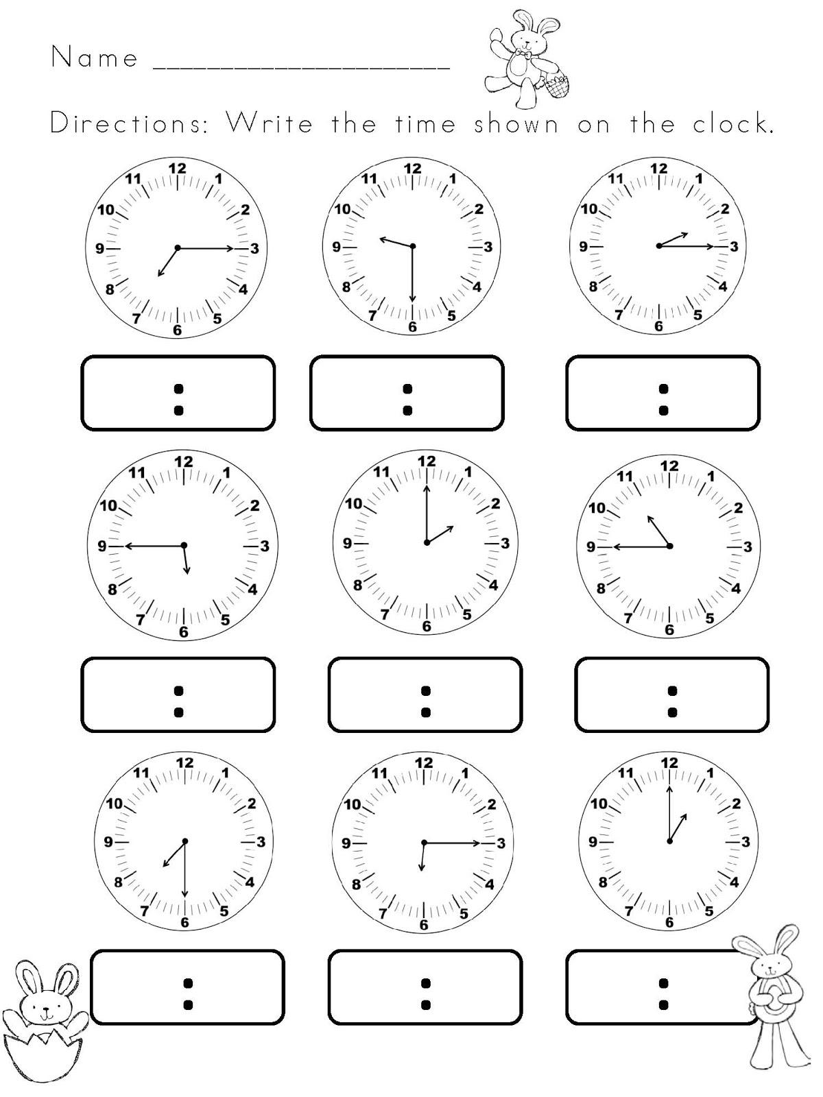 16 Best Images Of Matching Digital Andog Clock
