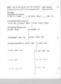 19 Best Images of Evaluating Polynomials Worksheet - Kuta ...