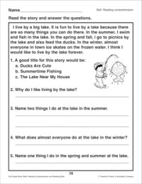 16 Best Images of Reading Strategies Worksheets - Reading ...
