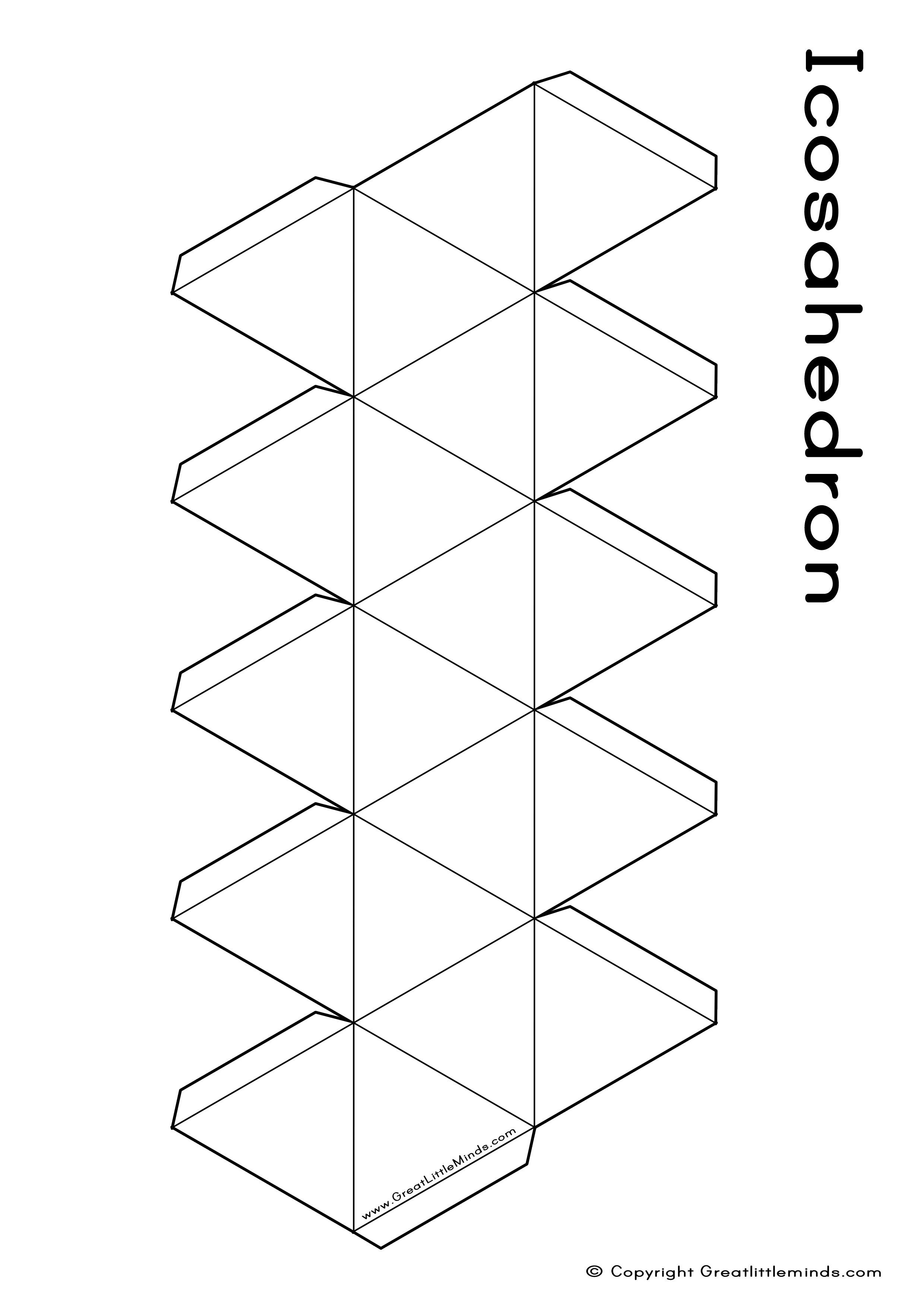 11 Best Images Of Printable 3d Net Shapes Worksheets
