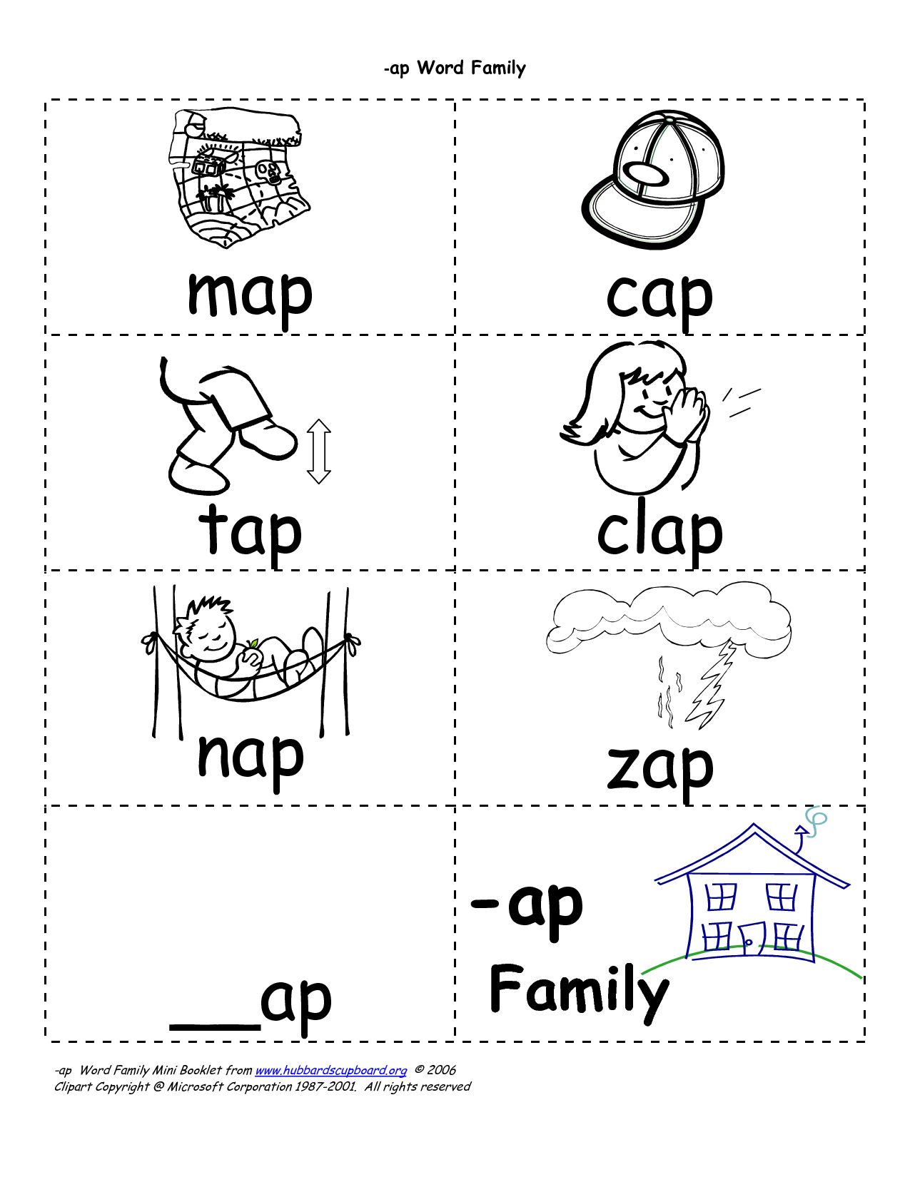10 Best Images Of The Book Family Worksheets