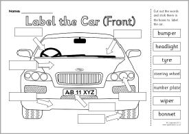 school bus parts diagram typical vfd wiring 11 best images of car worksheet label - worksheet, to ...