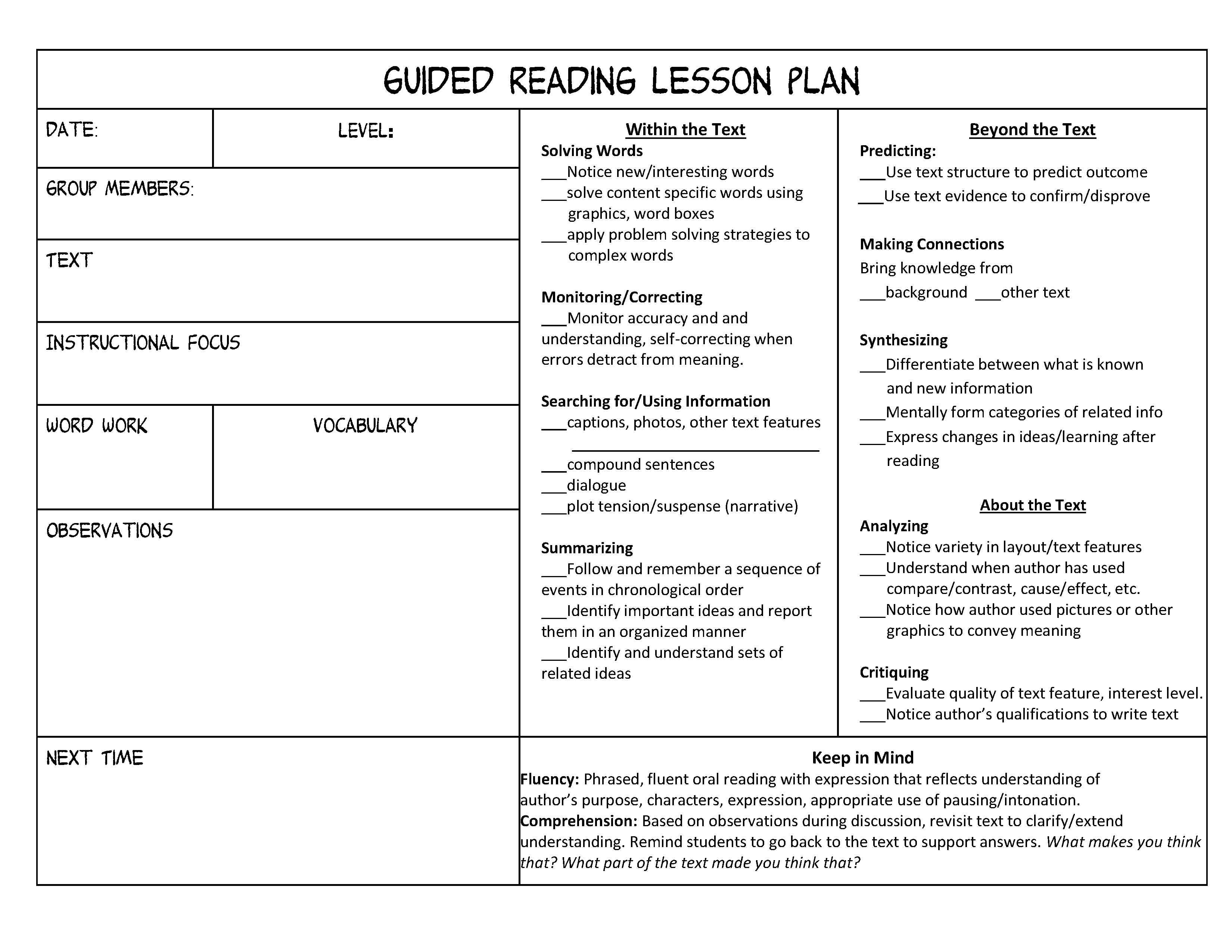 15 Best Images Of Student Evaluation Worksheet