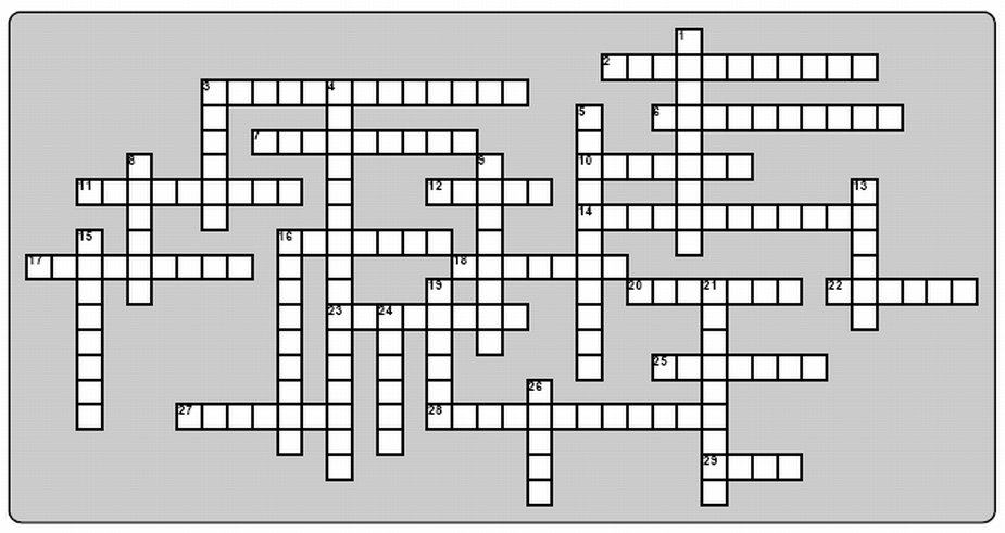6 Best Images of Amendment Crossword Worksheet Answers