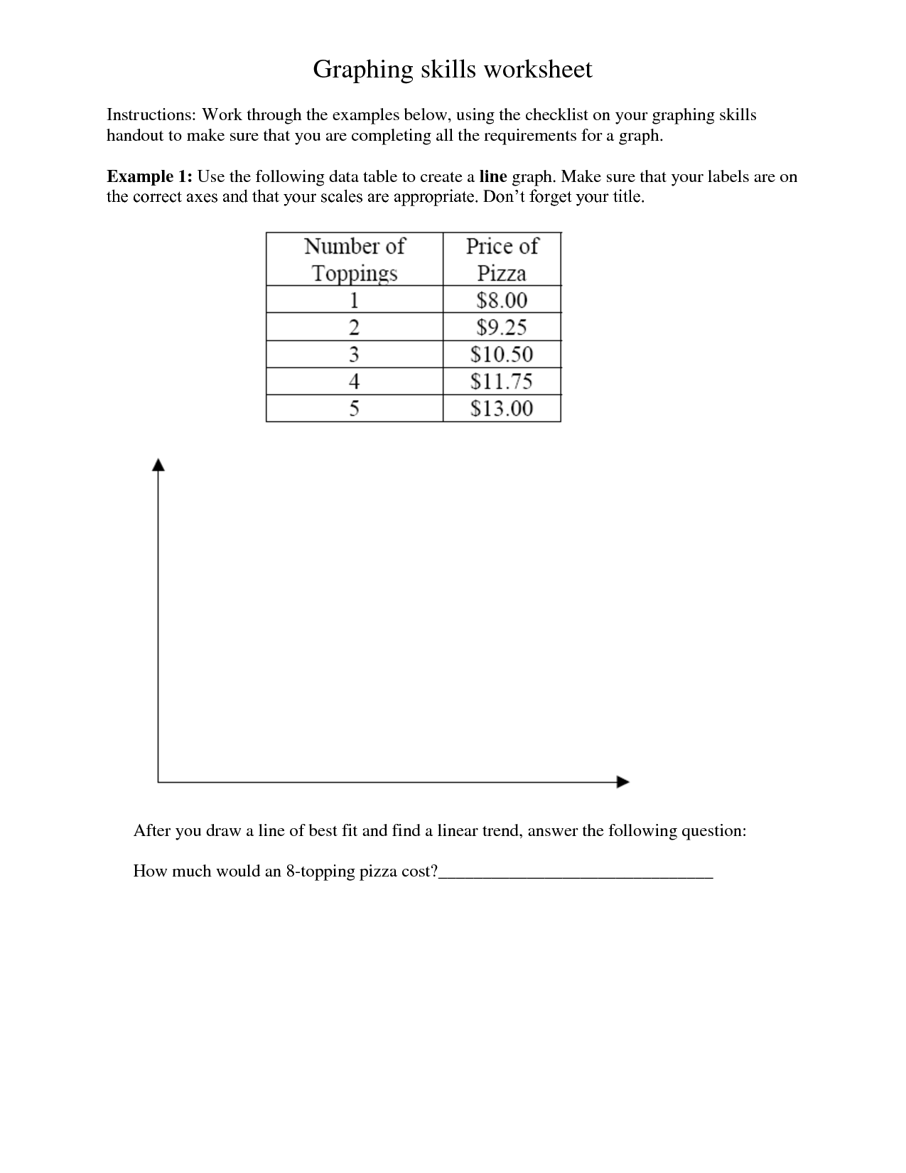 17 Best Images Of Interpreting Graphs Worksheet 5th Grade