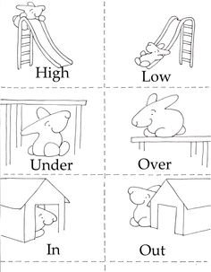 15 Best Images of Opposites Worksheets For Kids