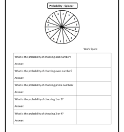 Probability Worksheets 7th Grade Math   Printable Worksheets and Activities  for Teachers [ 1650 x 1275 Pixel ]
