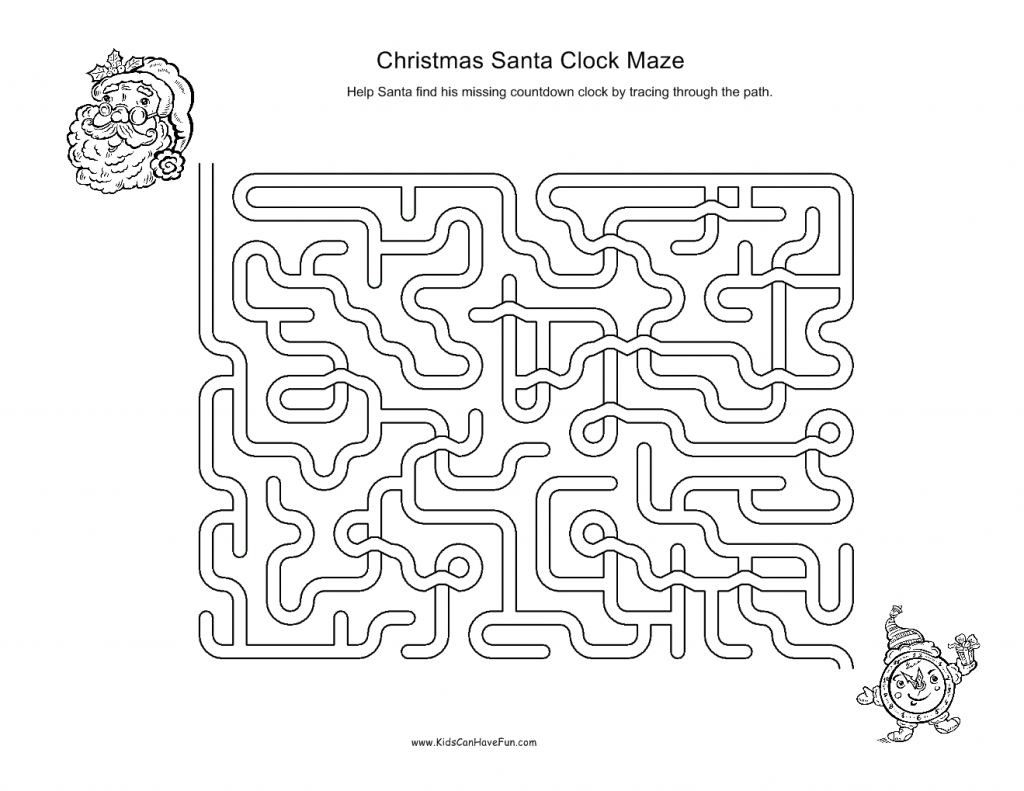 7 Best Images Of Santa Math Worksheets