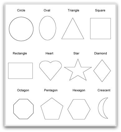 10 Best Images of 3-Dimensional Shapes Kindergarten