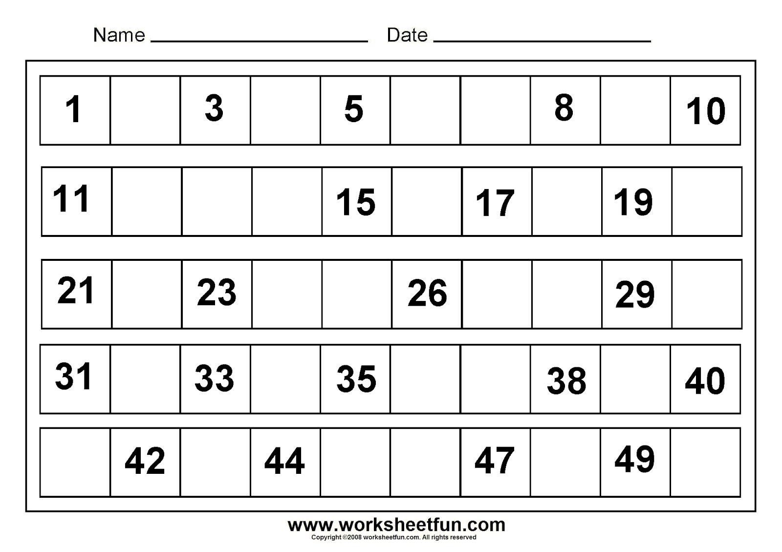 15 Best Images Of Writing Numbers 1 30 Worksheet
