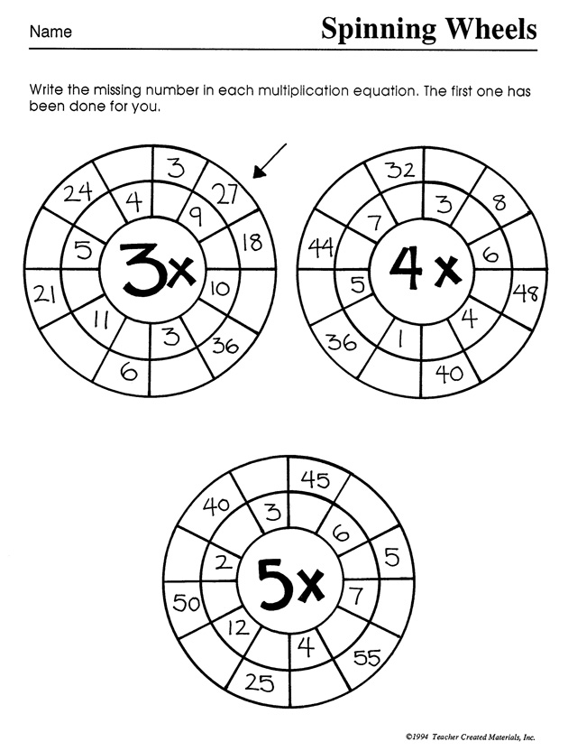 8 Best Images of Fun Multiplication Worksheets 5th Grade