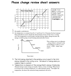 Change Thermal Energy Worksheet   Printable Worksheets and Activities for  Teachers [ 1650 x 1275 Pixel ]