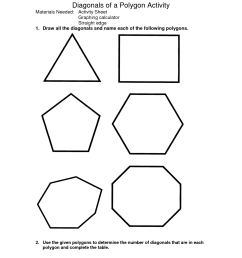 Identifying Polygons Worksheet   Printable Worksheets and Activities for  Teachers [ 1650 x 1275 Pixel ]