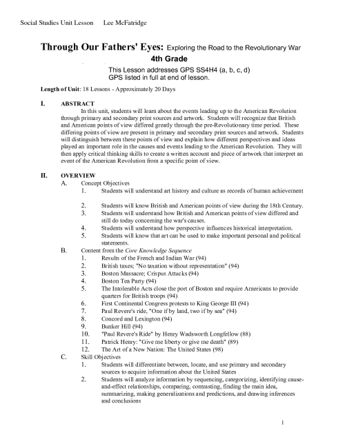 small resolution of American Revolutionary War Worksheets   Printable Worksheets and Activities  for Teachers