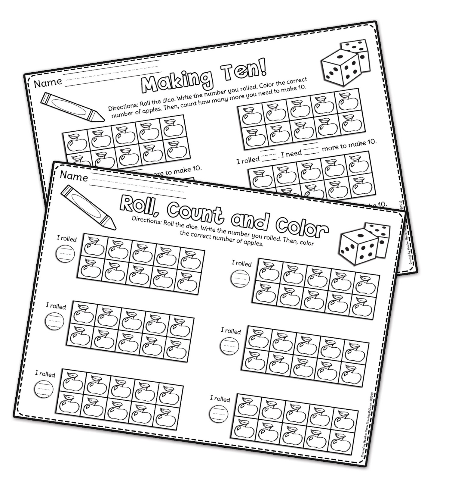Kindergarten Worksheet Equal Groups