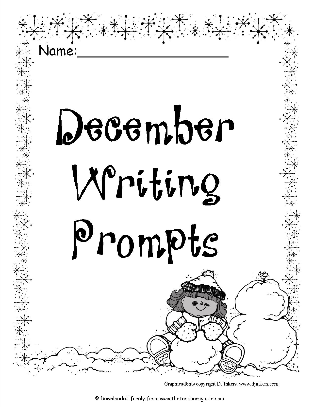 15 Best Images of Middle School Writing Prompts Worksheets