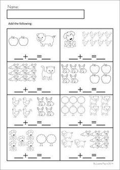 Pre K Animal Math Worksheets. Pre. Best Free Printable