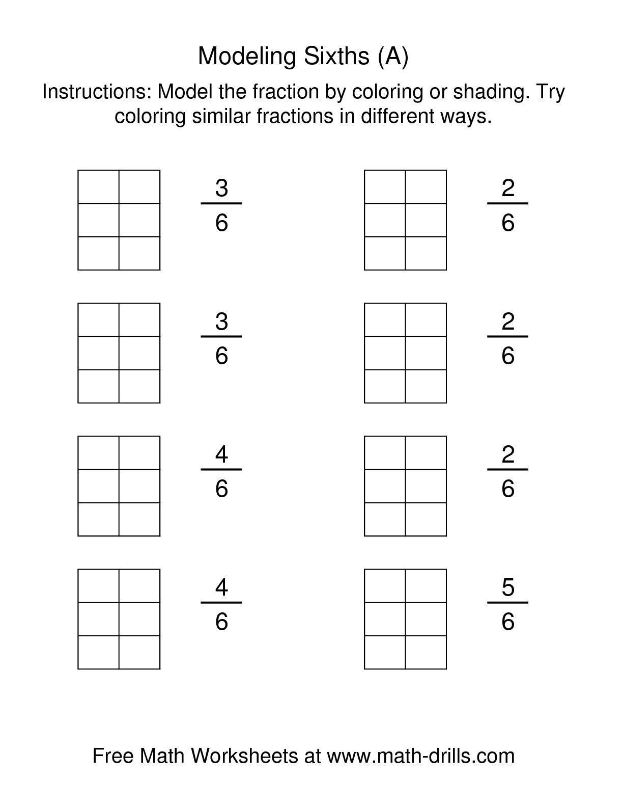 13 Best Images Of Printable Fraction Pizza Worksheets
