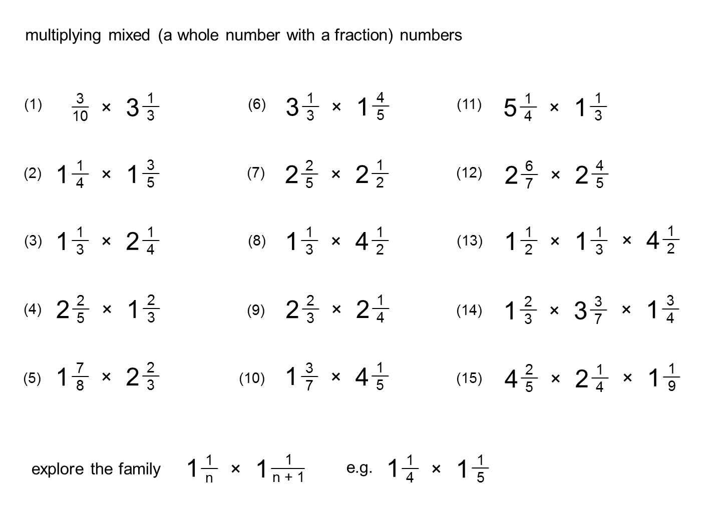 14 Best Images Of Multiplying Dividing Mixed Numbers