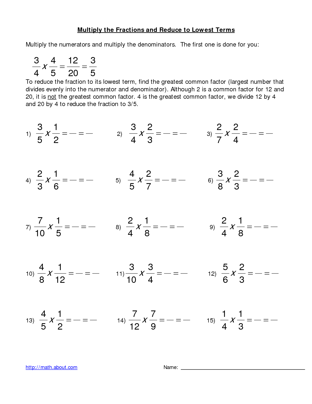 14 Best Images Of Multiplying Dividing Mixed Numbers Worksheet