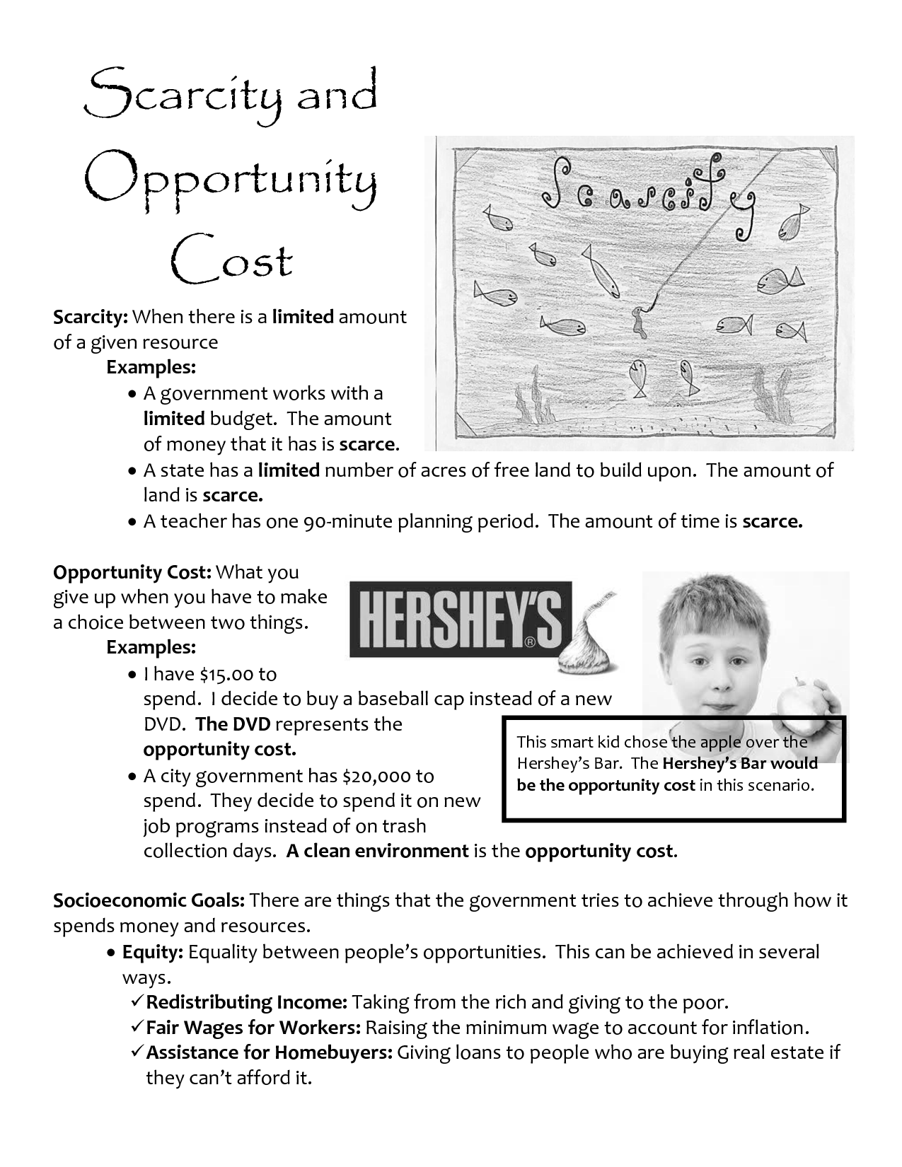 8 Best Images Of Supply And Demand Worksheets