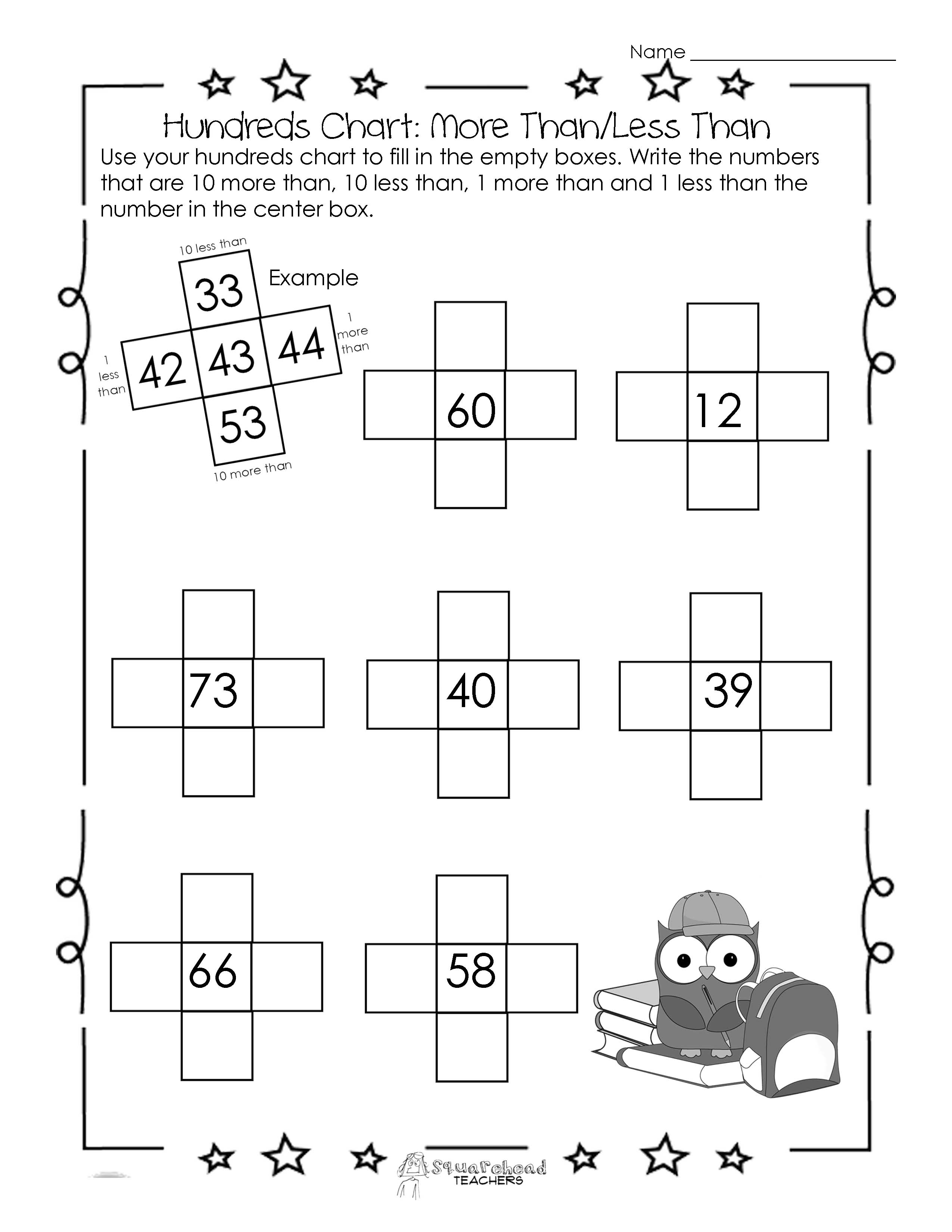 15 Best Images Of More Or Less Worksheets