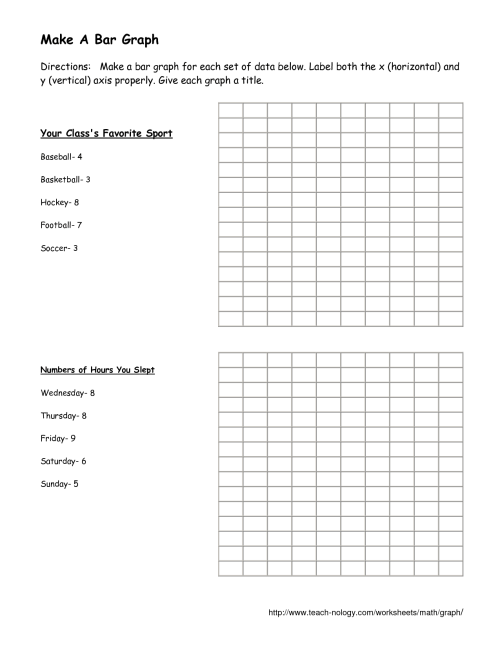small resolution of Money Bar Graph Worksheets   Printable Worksheets and Activities for  Teachers