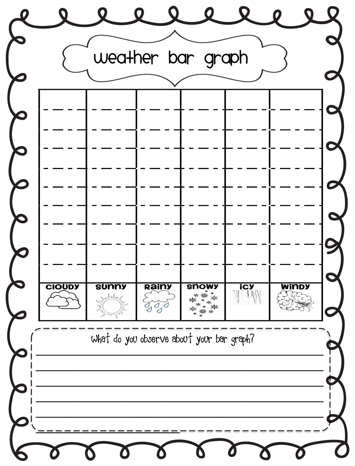 hight resolution of Elementary Bar Graph Worksheet   Printable Worksheets and Activities for  Teachers
