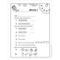 Mad Minute Math Worksheets For 2nd Grade