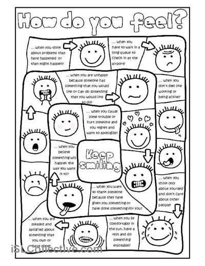 19 Best Images of Feelings Worksheets For Adolescents