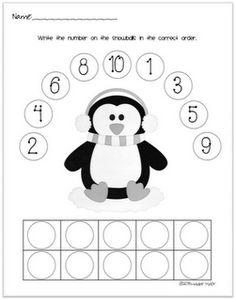 Kindergarten Penguin Worksheets. Kindergarten. Best Free