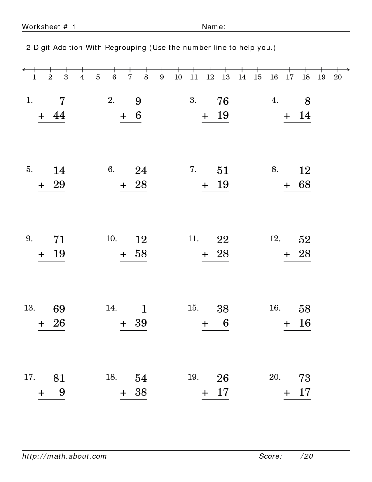 Search Results For Subtraction With Regrouping Worksheets