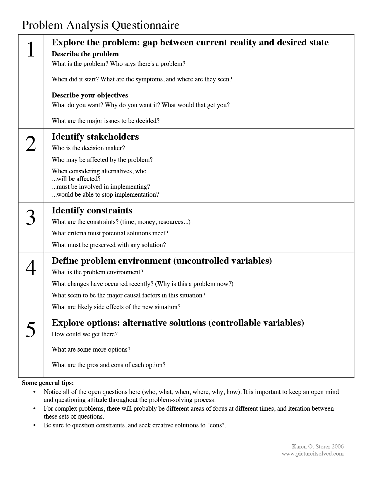 Problem Solving Cbt Worksheet