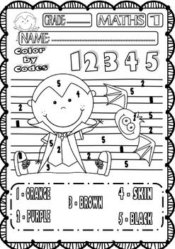13 Best Images of Printable Halloween Worksheets 3rd Grade