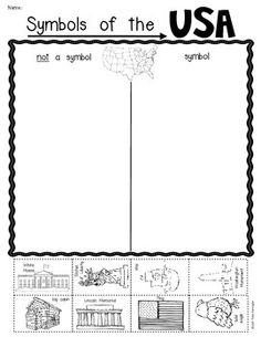10 Best Images of Worksheets About American Symbols