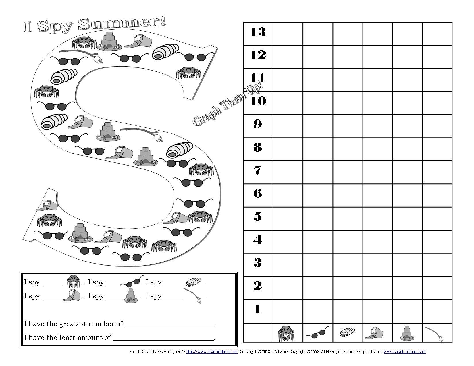 16 Best Images Of I Spy Worksheets Elementary