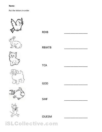 11 Best Images of ABC Preschool Worksheets Spelling