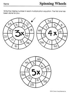 15 Best Images of Touch Math Multiplication Worksheets