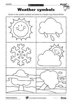 11 Best Images of Weather Chart For Kids Worksheets