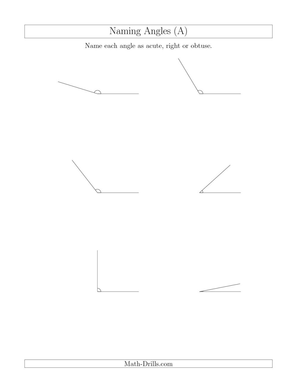 medium resolution of Angles Worksheet 4th   Printable Worksheets and Activities for Teachers