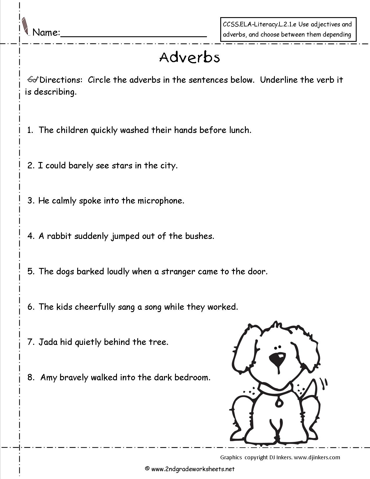 18 Best Images Of Adjectives Worksheets For Grade 2