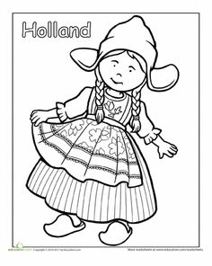 10 Best Images of Traditional French Clothing Worksheet