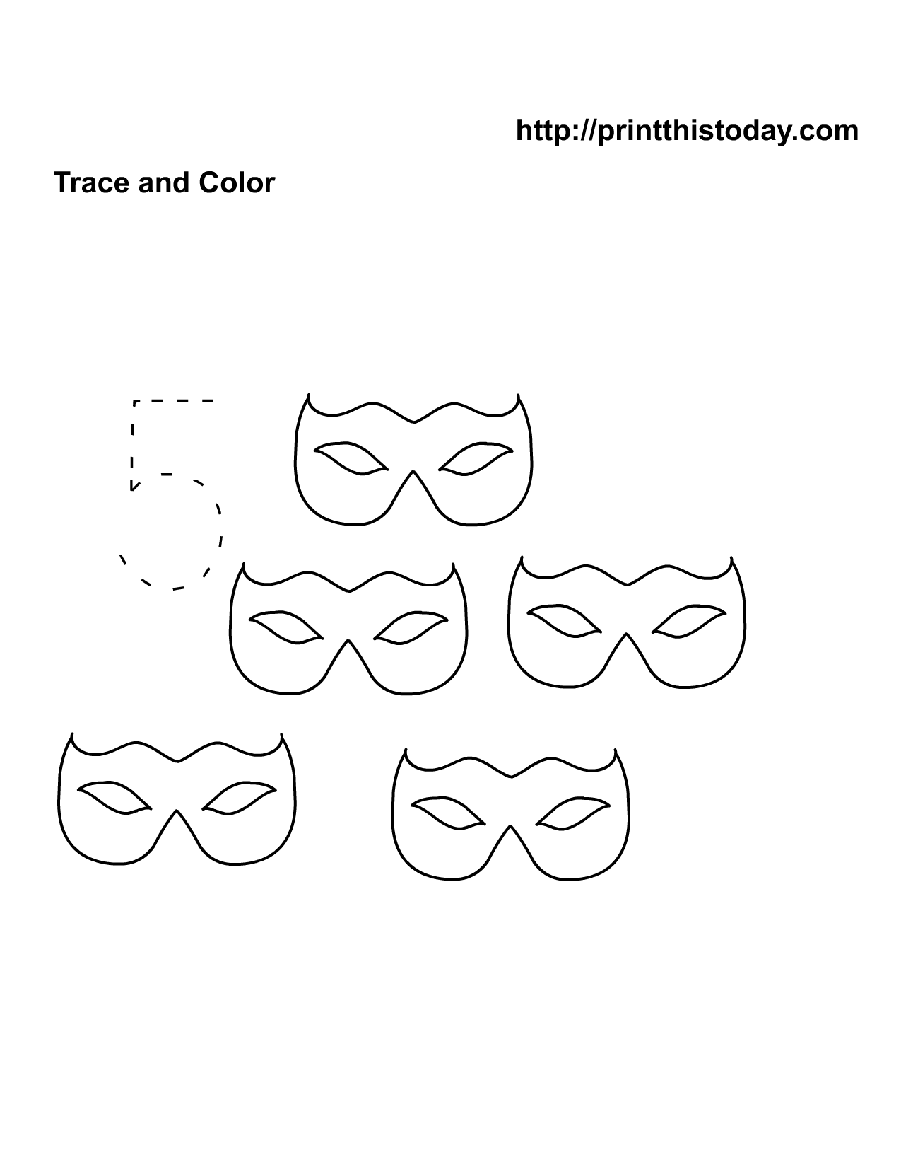 14 Best Images Of Halloween Tracing Worksheets